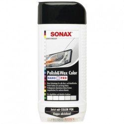 SONAX Polish & Wax COLOR bílá, 500ml