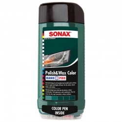 SONAX Polish & Wax COLOR zelená, 500ml