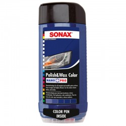 SONAX Polish & Wax COLOR modrá, 500ml