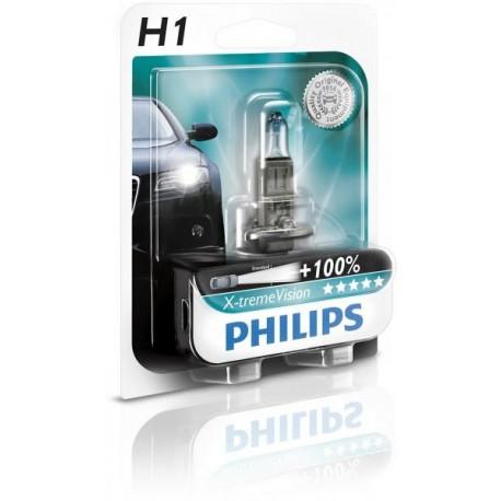 PHILIPS X-treme VISION 12V H1 +130%