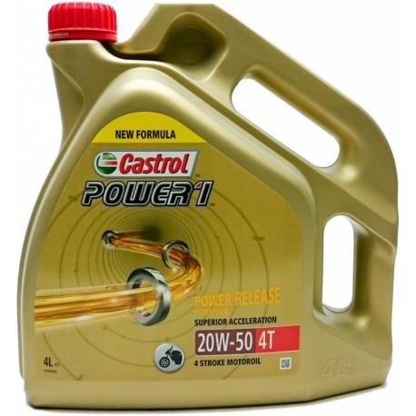Castrol POWER 1 4T 20W-50 4L