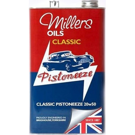 Classic Pistoneeze 20W-50 5L - motorový minerální olej