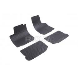 Octavia I (1996-2010) gumové koberečky černé