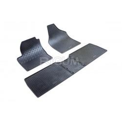 Sharan (1997-2010) gumové rohože (5 sedadel, sada 5ks)