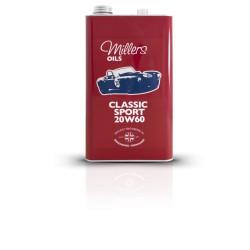 MILLERS OILS Classic Sport Pistoneeze 20W-60, motorový polosyntetický olej, 5 l