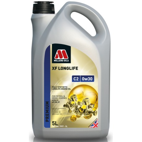 MILLERS OILS XF LONGLIFE C2 0W30, 5L