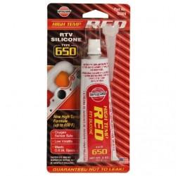 Červené silikonové těsnění na teplé spoje do 343°C HIGH TEMP RED - Versachem 65309