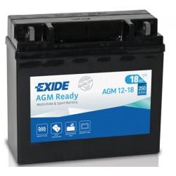 EXIDE YTX20L-BS nebo ETX20L-BS nebo AGM12-18