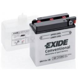 6N11A-1B startovací baterie EXIDE