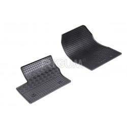 Connect (2002-2013) gumové rohože (2 sedadla, sada 2ks)